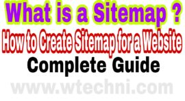 What is Sitemap? Why is it important and How to create an XML Sitemap ?