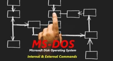 MS-DOS Commands in Hindi – Internal and External DOS Commands with Syntax