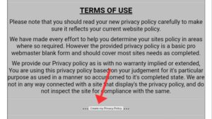 For creating Privacy Policy Page WTechni 4