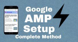 ब्लॉग में Google AMP कैसे सेटअप करे?