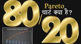 Pareto Chart क्या है और कैसे बनायें?