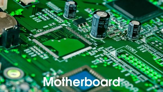 Motherboard - parts of computer in hindi