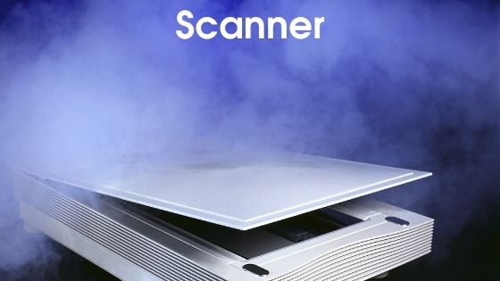 Scanner - parts of computer in hindi