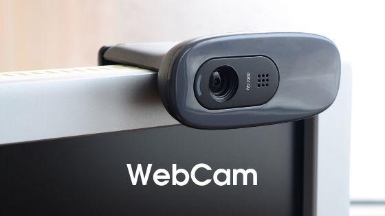 WebCam - parts of computer in hindi