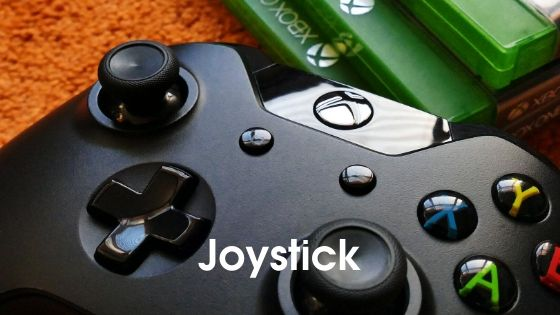joystick - parts of computer in hindi