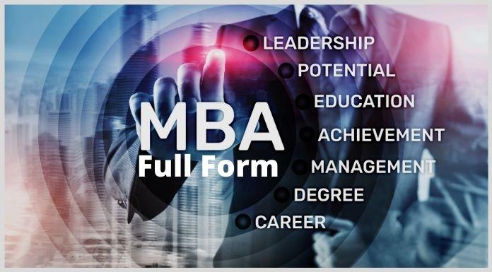 MBA Full Form - MBA का पूरा नाम क्या है ?